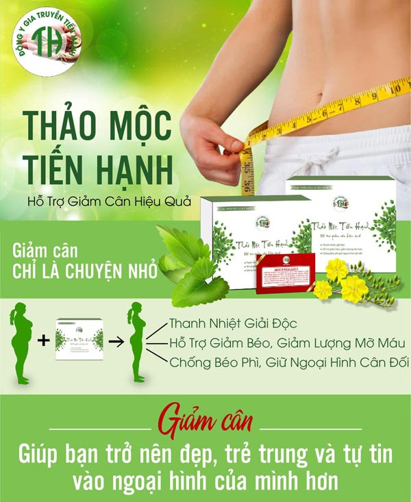 Thuoc giam can Tien Hanh