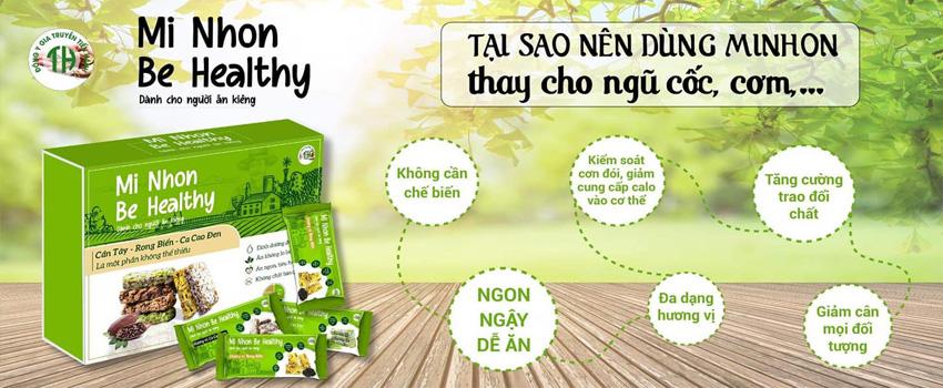 Banh an dam Mi Nhon