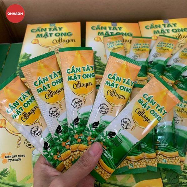 Cần tây mật ong collagen đảm bảo chất lượng