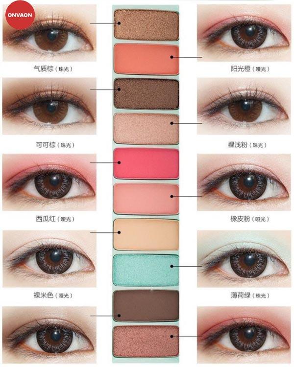 Phấn mắt LAMEILA Play Color Eyes tông Xanh