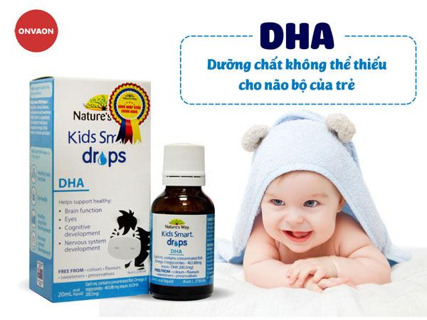 Nature's Way Kids Smart Drops DHA bổ sung DHA