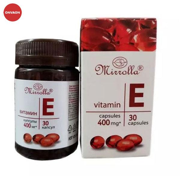 Vitamin E đỏ của Nga Mirrolla